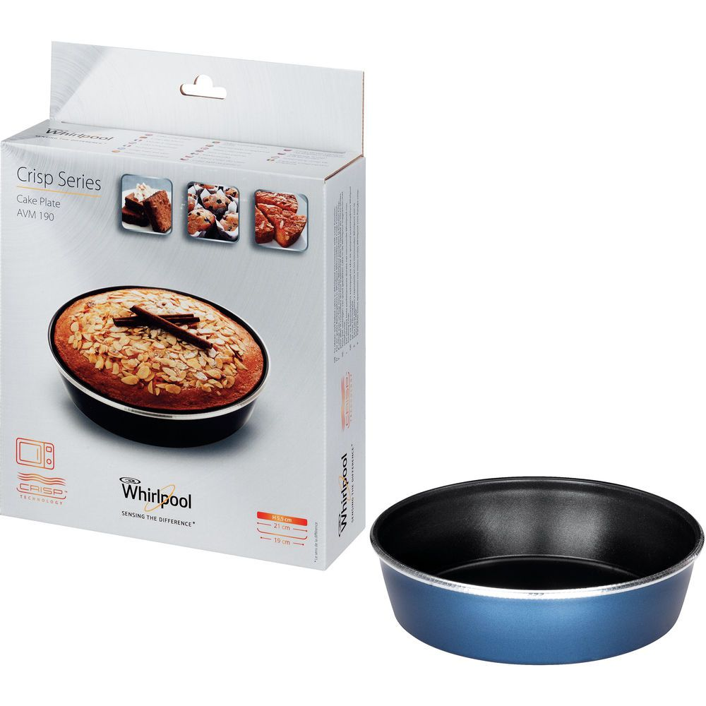 Crisp Cake Plate for Whirlpool microwave with crisp function