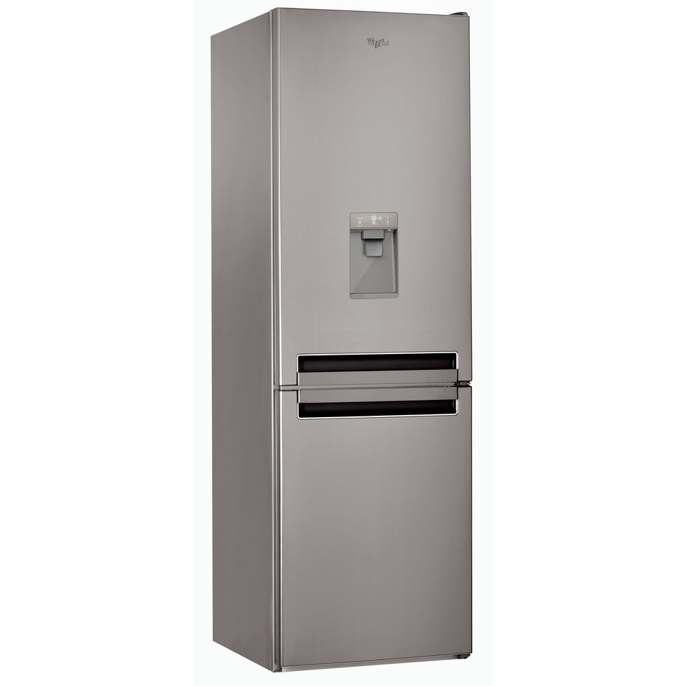 Whirlpool bsnf 8451 ox aqua fridge freezer in optic inox - Aqua whirlpools ...