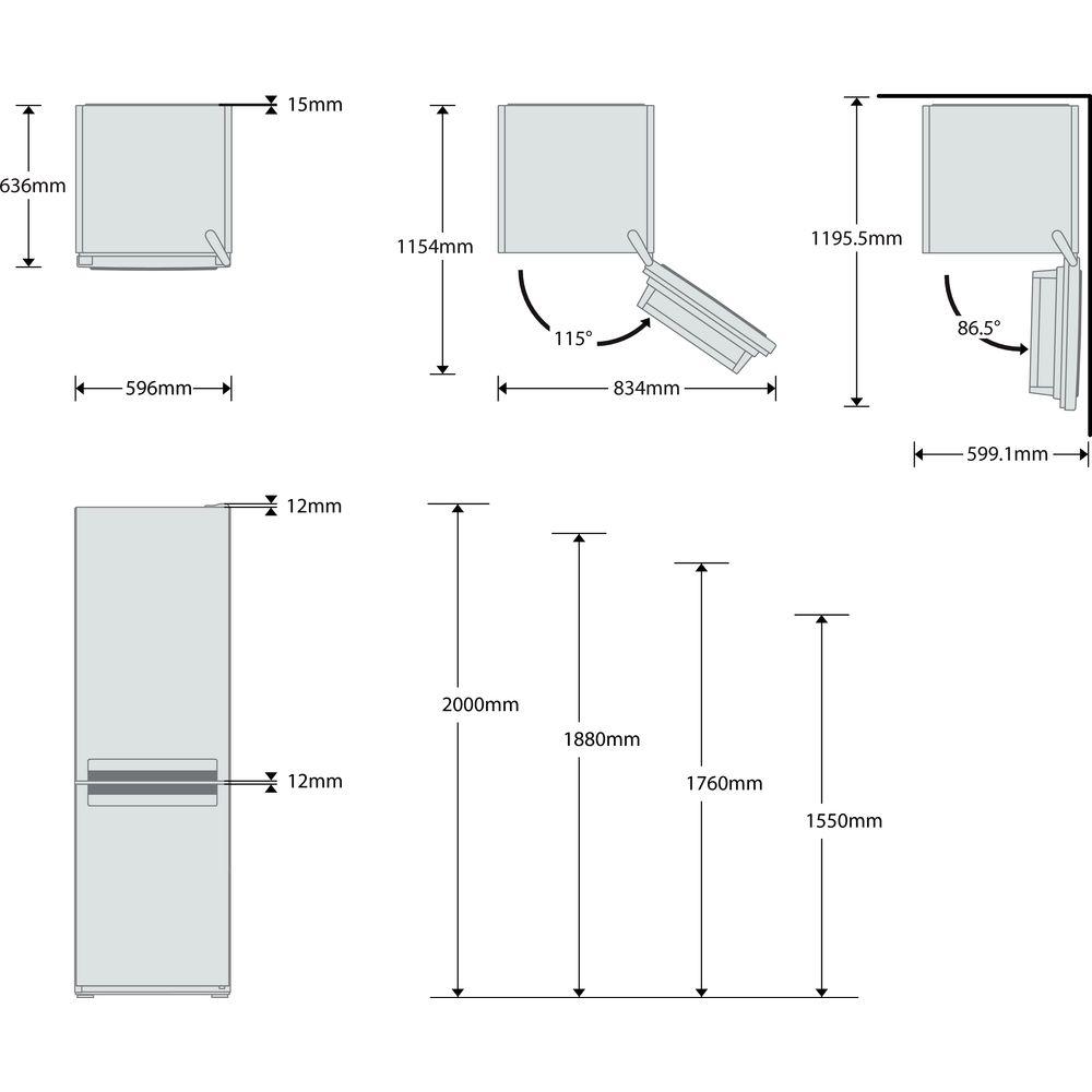 whirlpool køleskab manual
