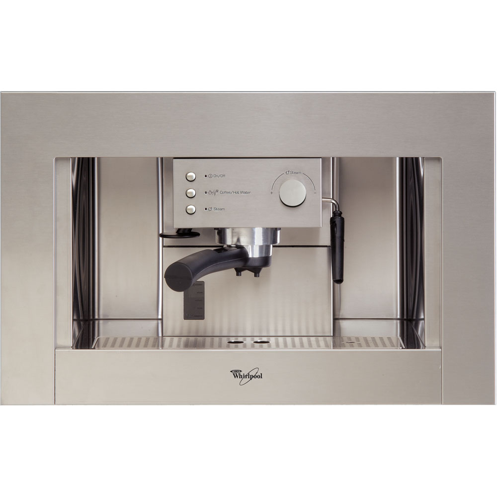 whirlpool builtin coffee machine in stainless steel ace 010ix