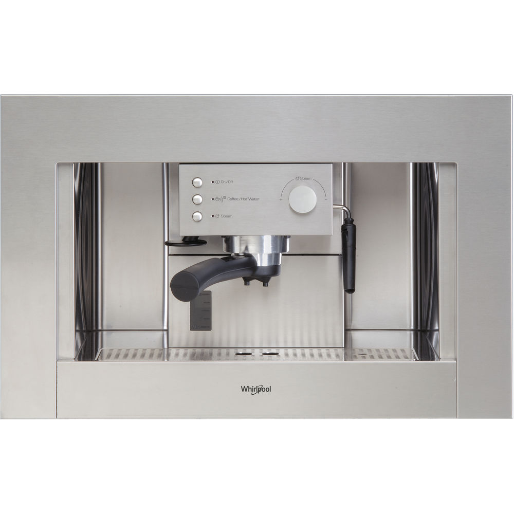 Whirlpool Built-In Coffee Machine in Stainless Steel - ACE 010/IX