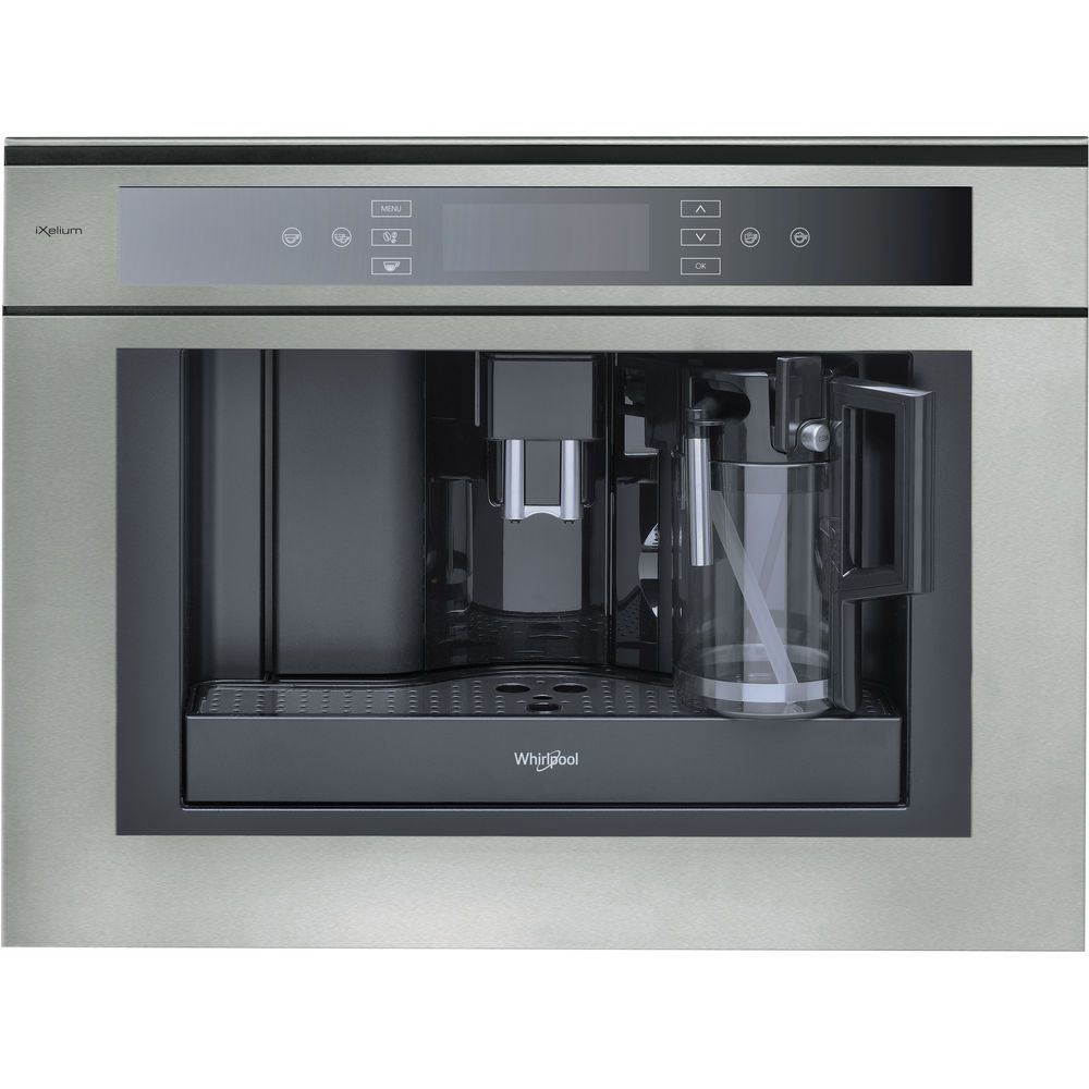Whirlpool Fusion ACE 102 IXL Built-In Coffee Machine in Stainless Steel