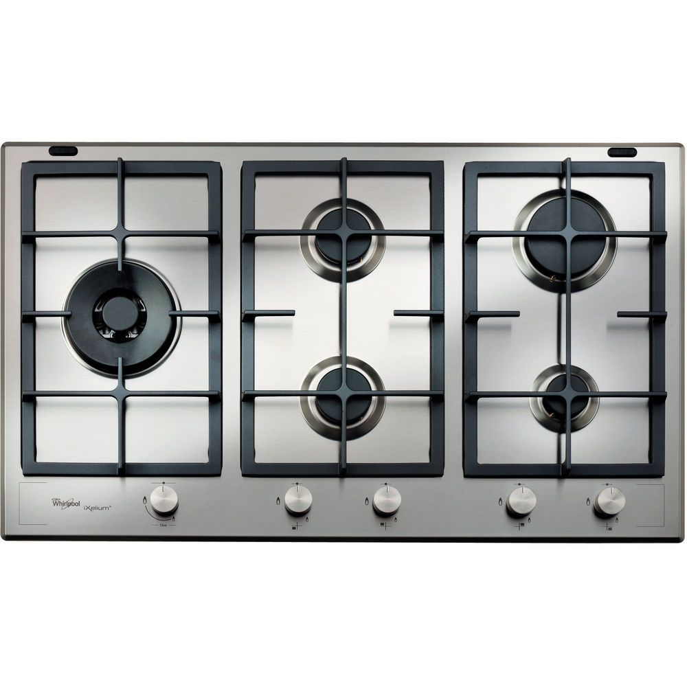 Whirlpool Fusion Built-In Gas Hob in Stainless Steel - GMF 9522/IXL