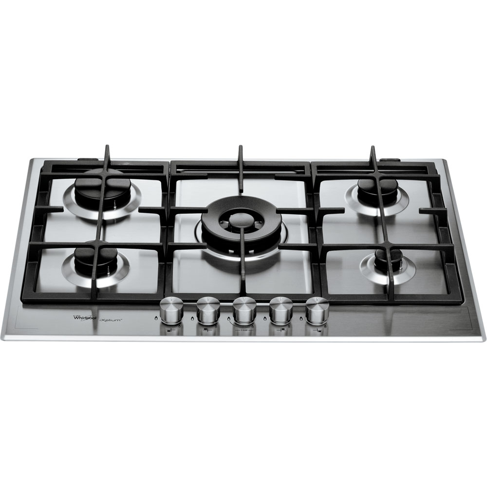 Whirlpool Fusion Built-In Gas Hob in Stainless Steel GMF 7522/IXL ...