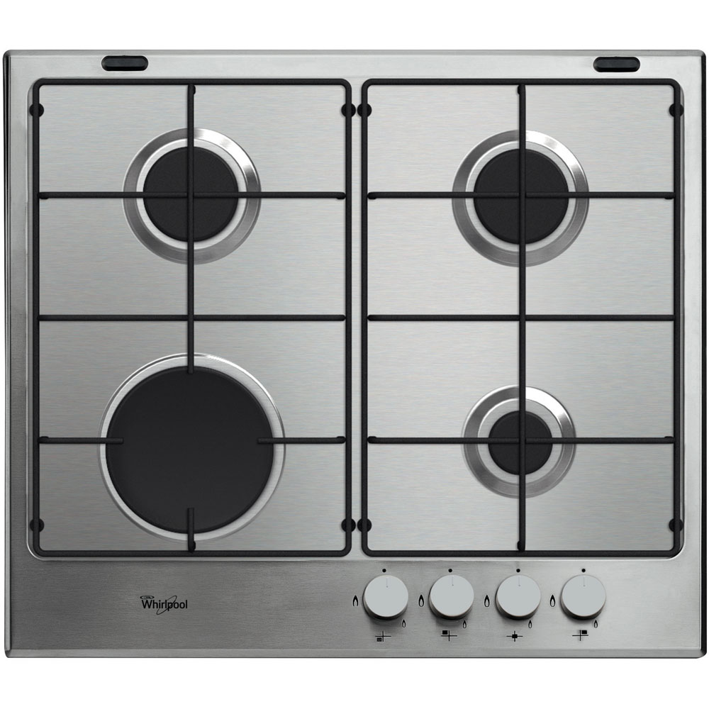 Whirlpool Absolute GMA 6411/IX Built-In Gas Hob in Stainless Steel