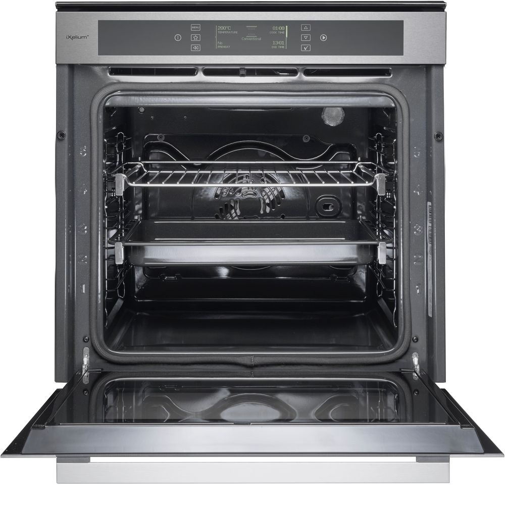whirlpool fusion akzm 6692 ixl built in oven in stainless steel whirlpool uk. Black Bedroom Furniture Sets. Home Design Ideas