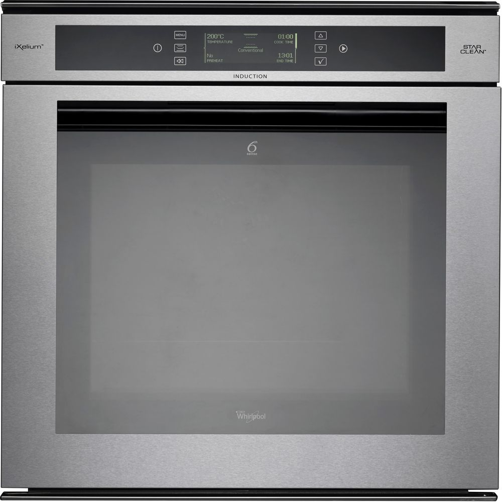 Whirlpool Fusion Built-In Oven in Stainless Steel AKZM 8920/GK