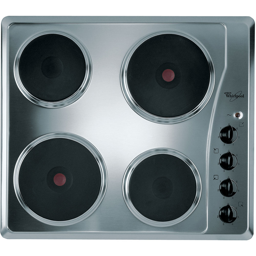 Whirlpool AKM332/IX Built-In Electric Hob in Stainless Steel