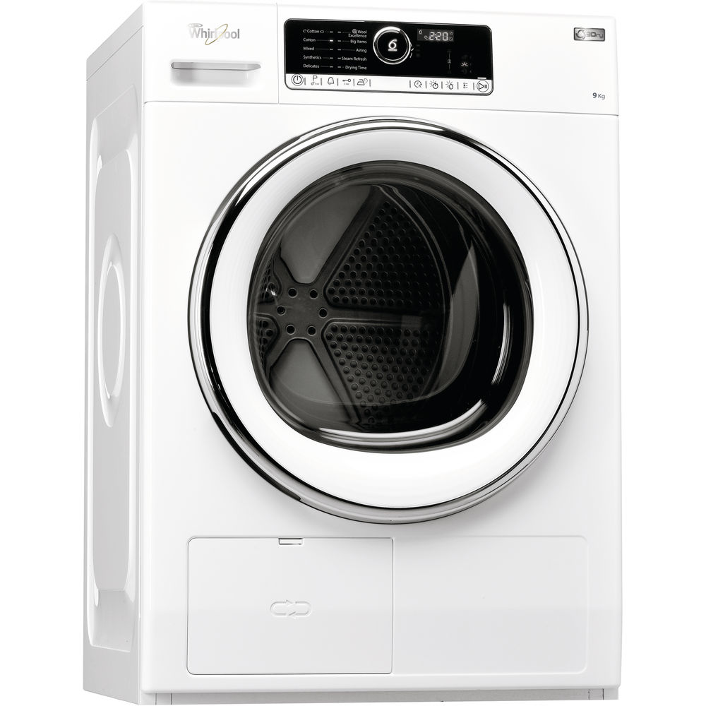 6th Sensehscx90423hscx 90423857501215050 Whirlpool Uk Washing Machine Repair Diagram View Supremecare Hscx 90423 Tumble Dryer In White