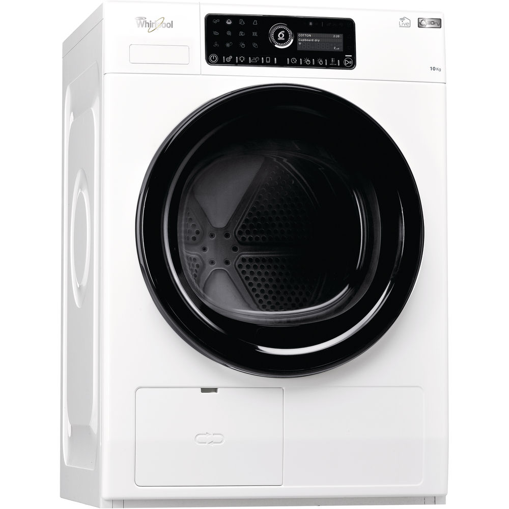 whirlpool supremecare hscx 10441 tumble dryer in white whirlpool uk. Black Bedroom Furniture Sets. Home Design Ideas