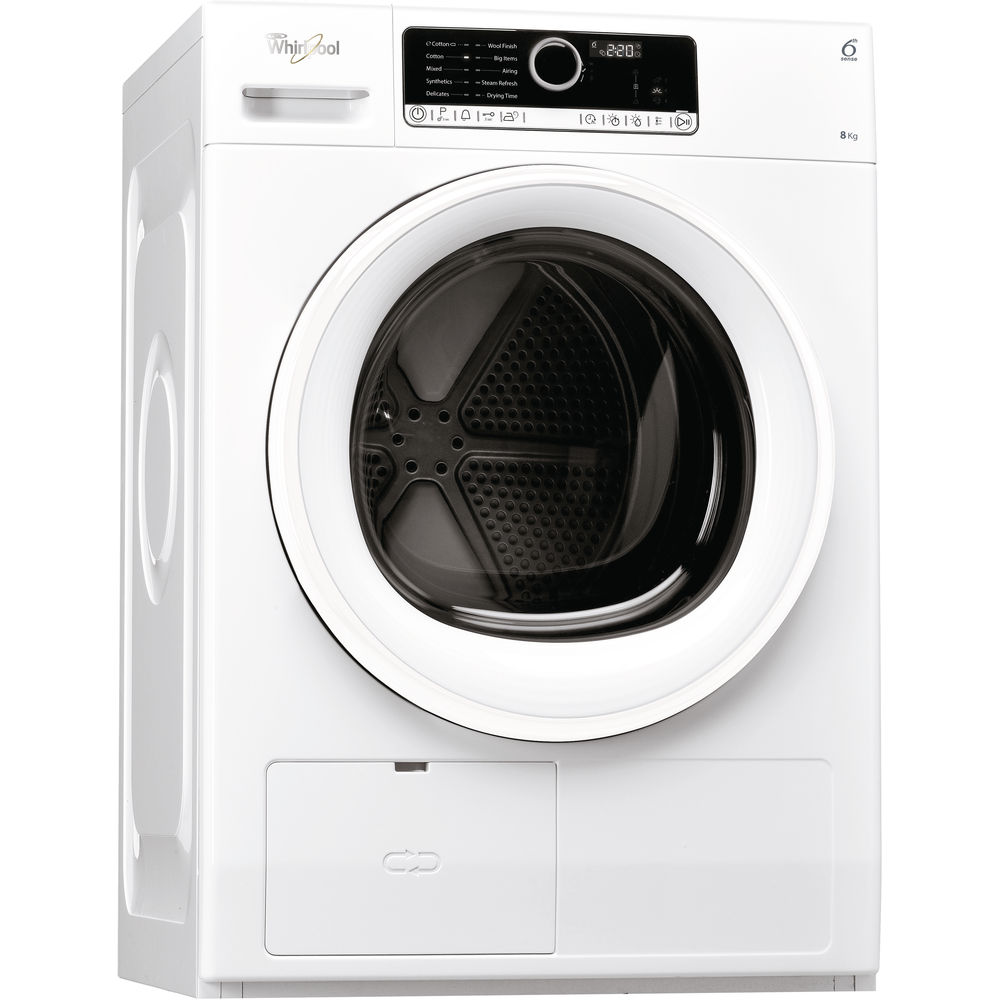 Whirlpool SupremeCare HSCX80110 Tumble Dryer in White