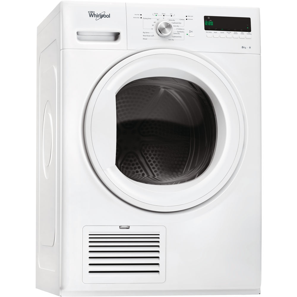 Whirlpool Domino DDLX 80114 Tumble Dryer in White