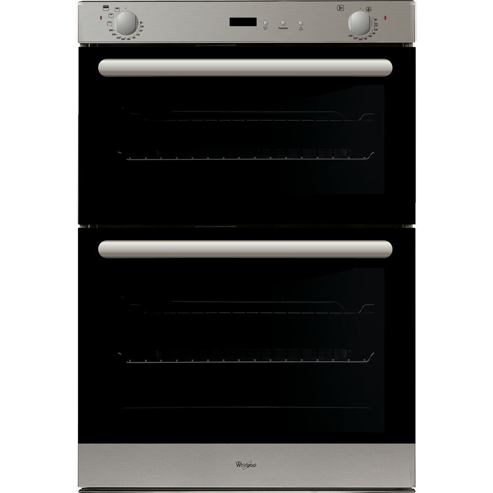 Large Built In Double Oven Part - 18: Whirlpool Built-In Double Oven In Stainless Steel AKW 401 IX