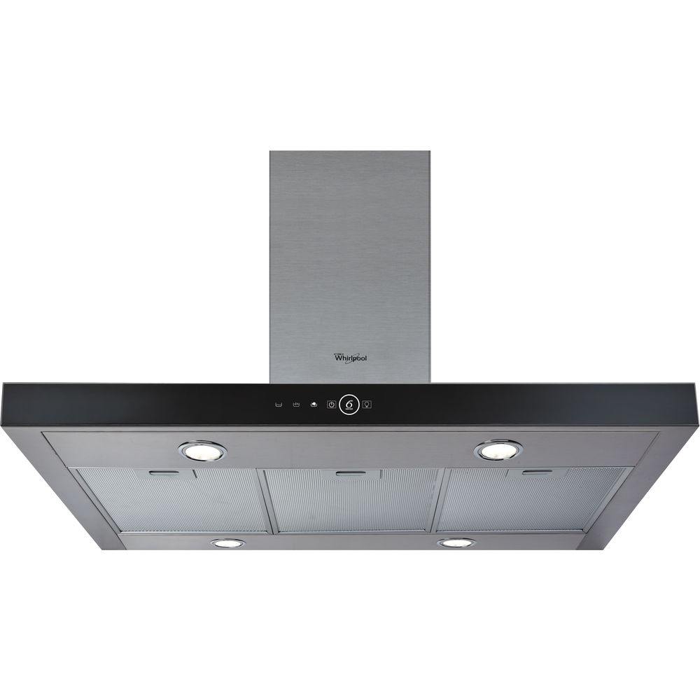 Whirlpool Built-In Cooker Hood in Stainless Steel - AKR 504 UK IX