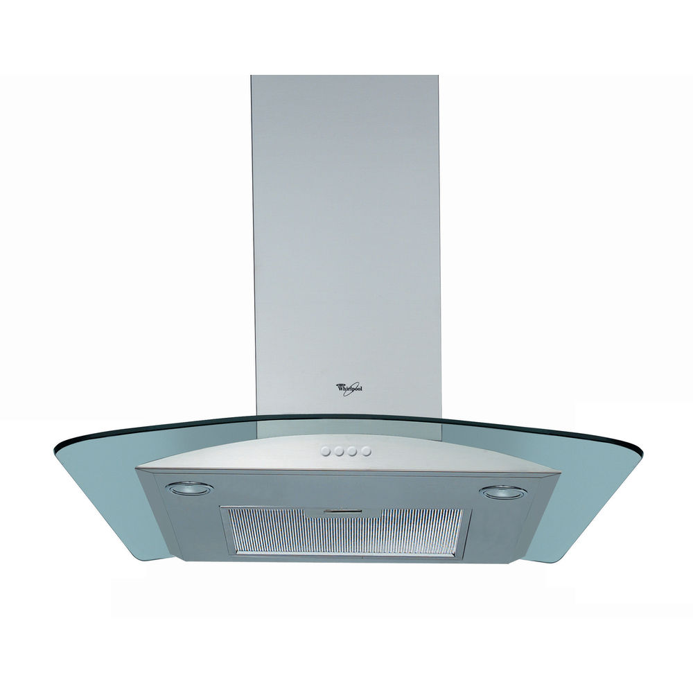 Whirlpool AKR 694 UK IX Built-In Cooker Hood in Stainless Steel ...