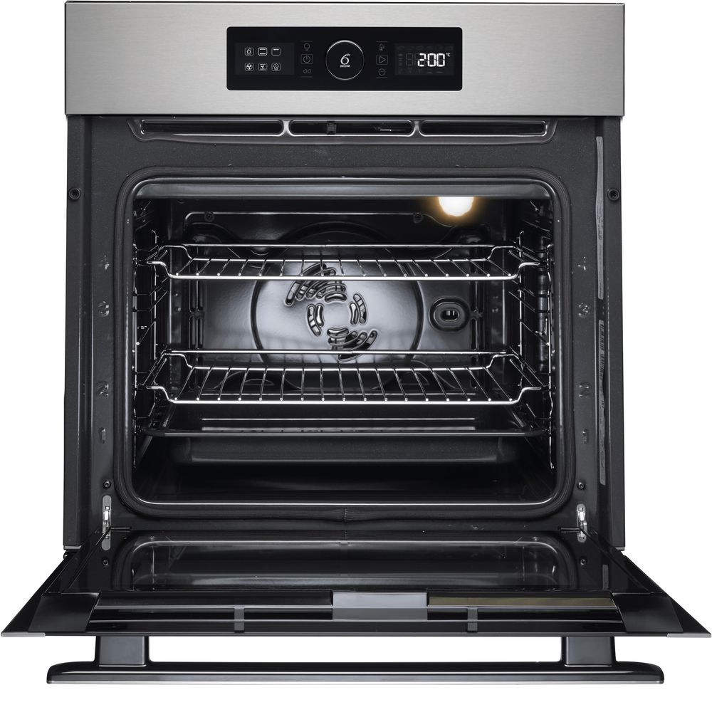 Built In Ovens Stainless Steel Black Whirlpool Uk