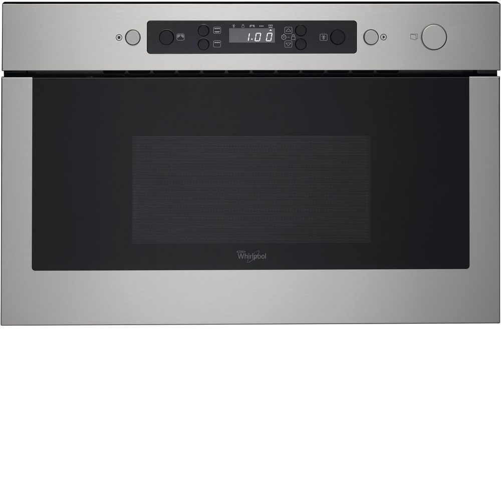 whirlpool absolute amw 439 ix built in microwave in stainless steel whirlpool uk. Black Bedroom Furniture Sets. Home Design Ideas