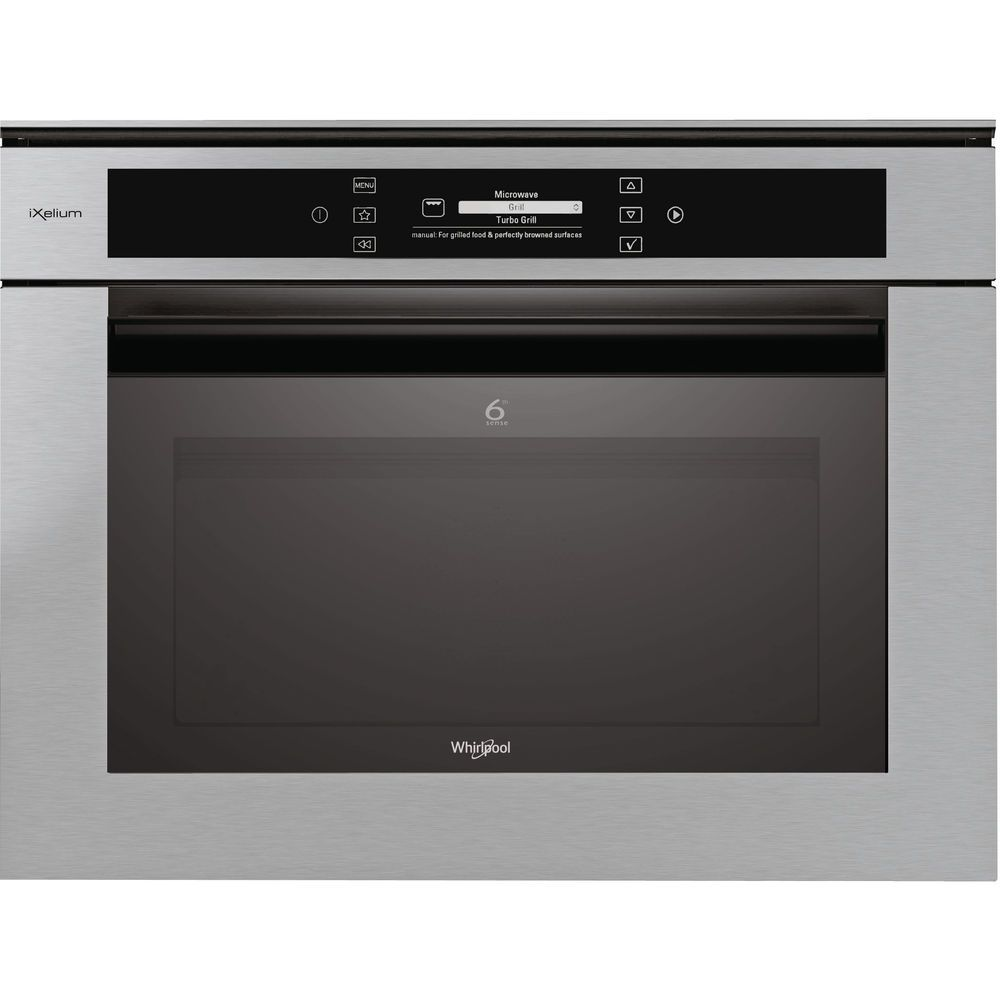 Whirlpool Fusion AMW 848/IXL Built-In Microwave in Stainless Steel
