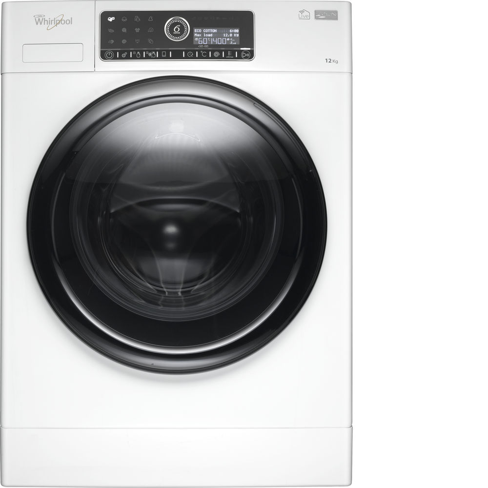 Whirlpool Supremecare Fscr12441 Washing Machine In White Uk Direct Drive Motor Wiring Diagram
