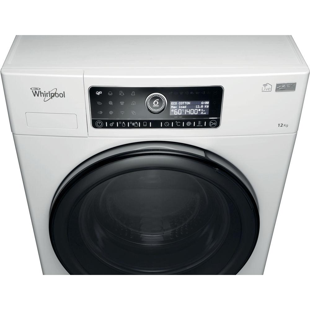Whirlpool supreme care washing machine in white fscr12441 - Whirlpool power clean 6th sense notice ...