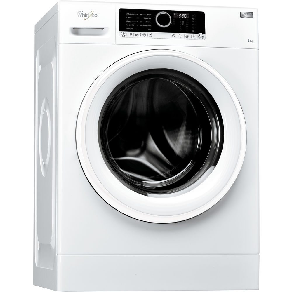 whirlpool supremecare fscr80410 washing machine in white whirlpool uk. Black Bedroom Furniture Sets. Home Design Ideas