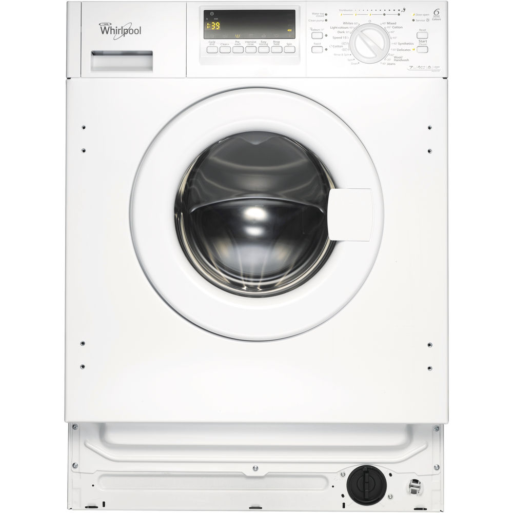 Whirlpool Awoe7143 Integrated Washing Machine Whirlpool Uk