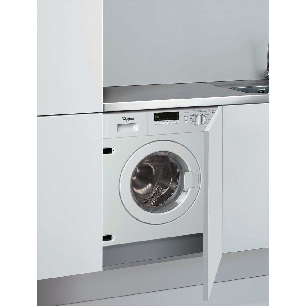 Whirlpool built in washing machine awoe7143 whirlpool uk - Machine a laver sous lavabo ...