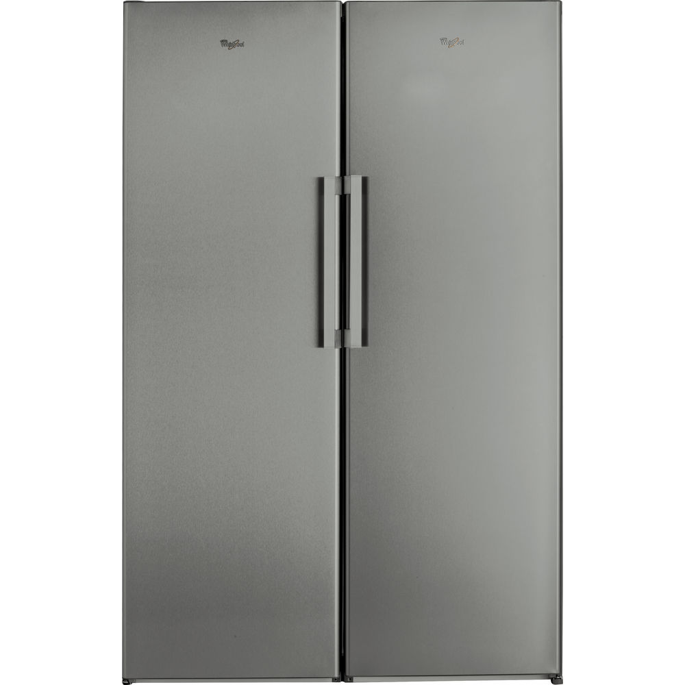 Whirlpool SW8 AM2C XR Fridge in Optic Inox