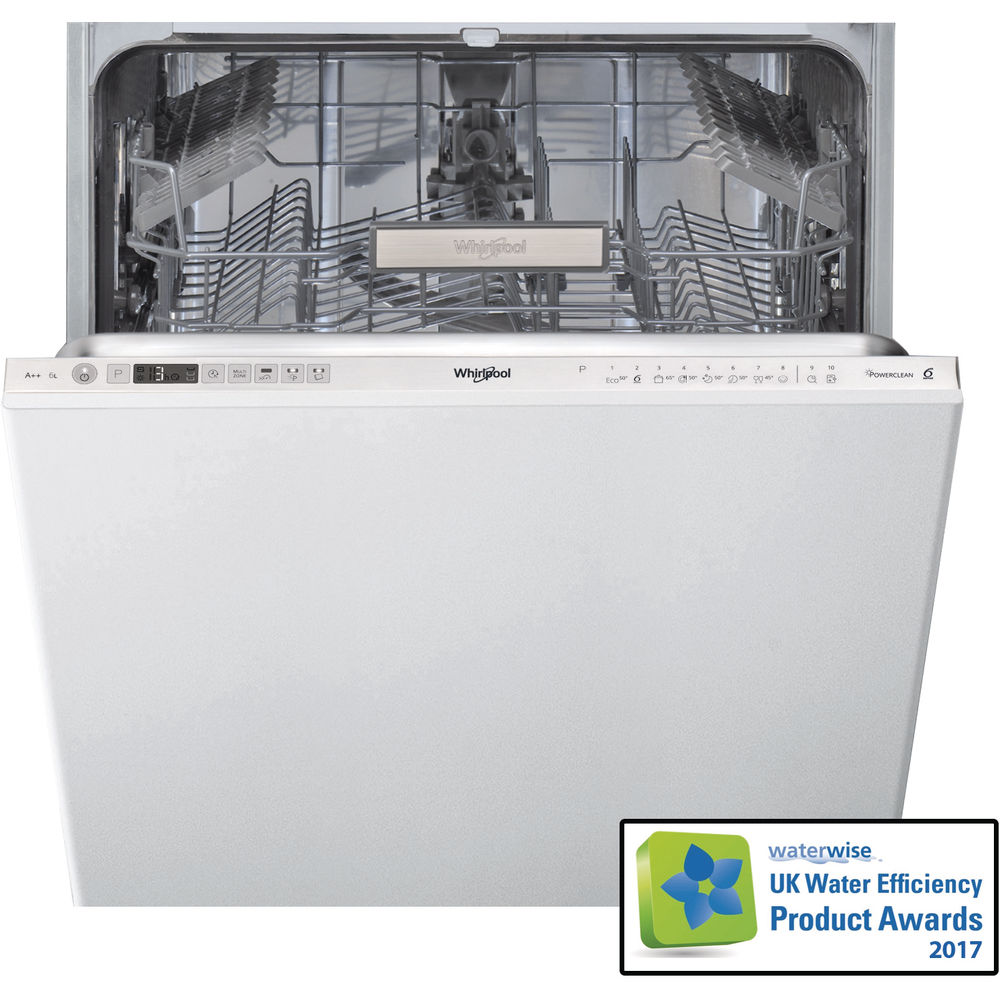 Whirlpool SupremeClean WIO 3T123 6PE Built-In Dishwasher