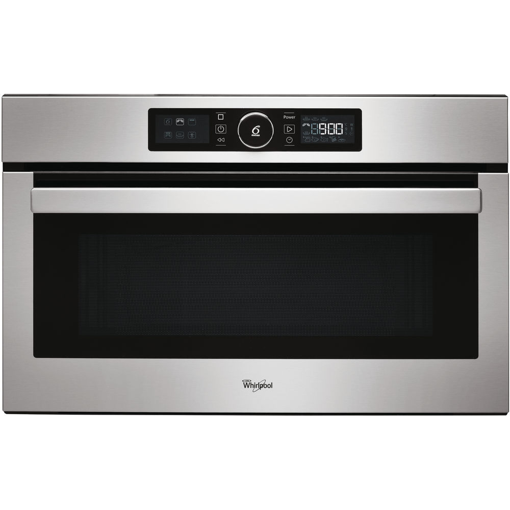 Whirlpool Absolute Built-In Microwave in Stainless Steel - AMW 730/IX
