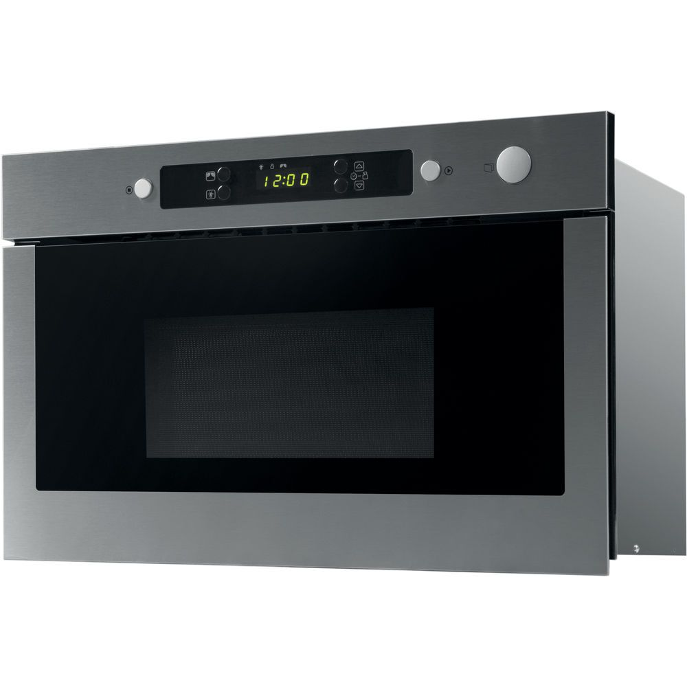 Whirlpool Absolute AMW 423 IX Built-In Microwave in Stainless Steel ... 82b8a3f412
