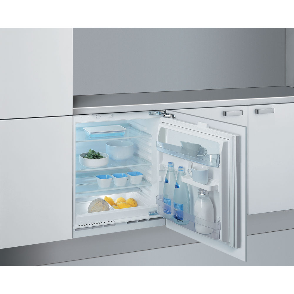 Whirlpool arg 146 a la integrated under counter fridge for Frigoriferi bassi