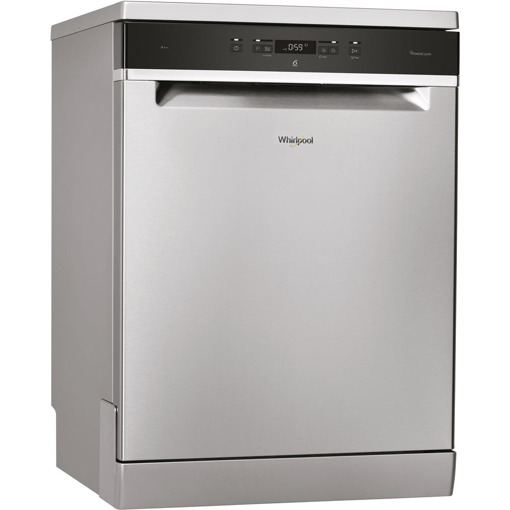 whirlpool supremeclean wfc 3c24 p x dishwasher in stainless steel whirlpool uk. Black Bedroom Furniture Sets. Home Design Ideas
