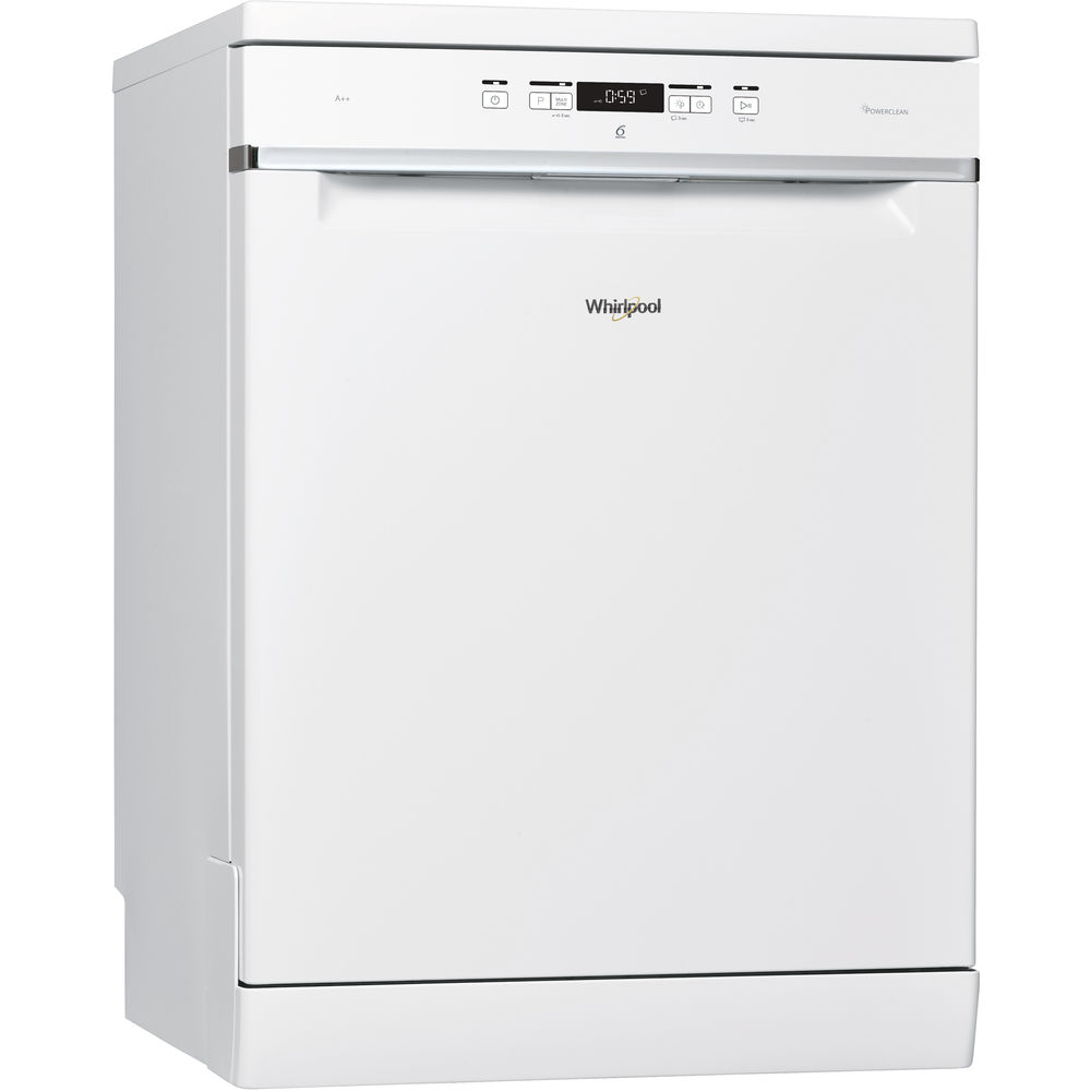 whirlpool supremeclean wfc 3c24 p dishwasher in white whirlpool uk. Black Bedroom Furniture Sets. Home Design Ideas