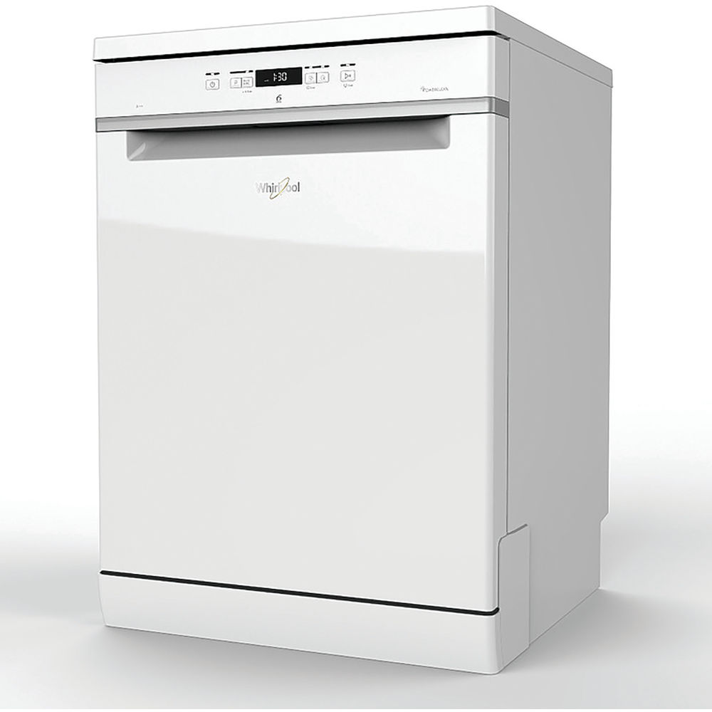 whirlpool supreme clean dishwasher in white wfc 3c24 p uk whirlpool uk. Black Bedroom Furniture Sets. Home Design Ideas