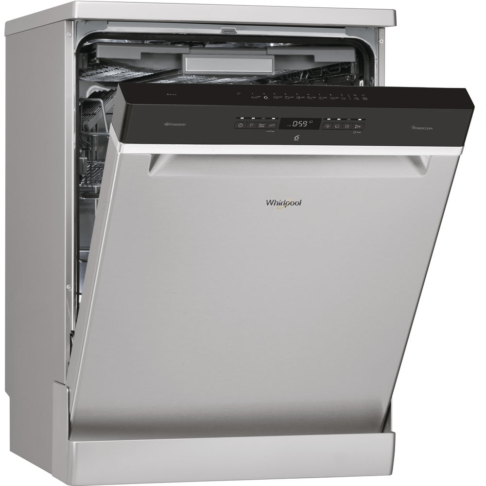 Whirlpool SupremeClean WFO 3P33 DL X Dishwasher in Stainless Steel ...