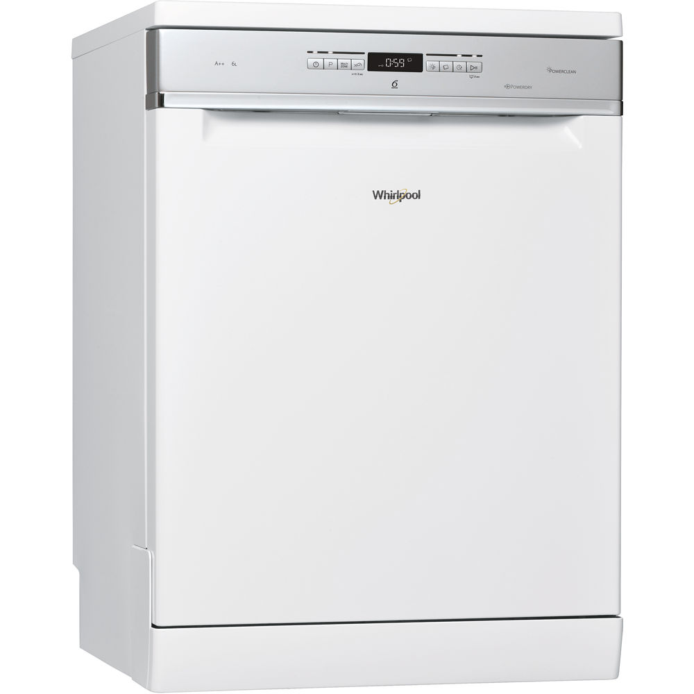 whirlpool supremeclean wfo 3t323 6p dishwasher in white whirlpool uk. Black Bedroom Furniture Sets. Home Design Ideas