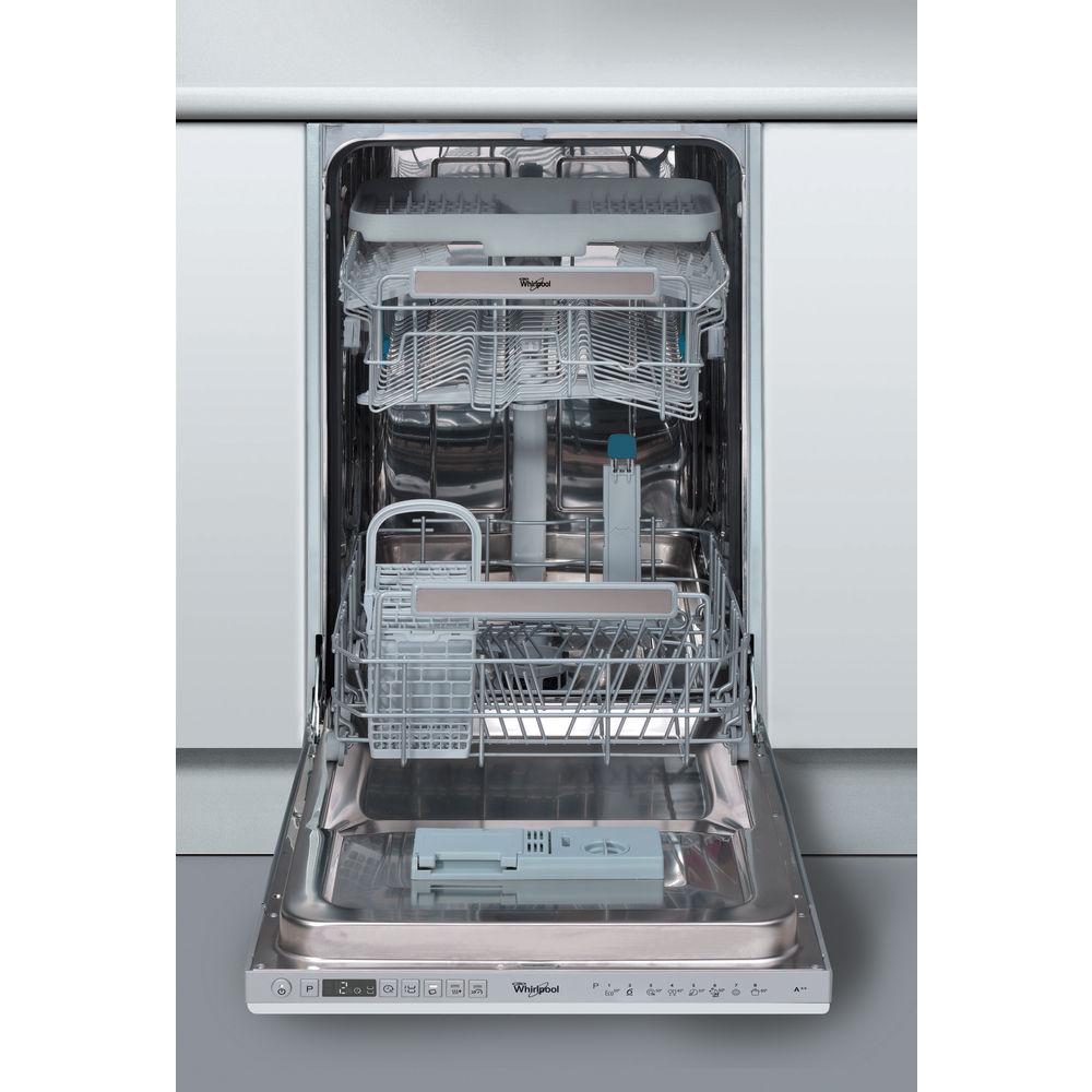 Whirlpool Supreme Clean Built-In Dishwasher in Steel ADG 522 UK ...
