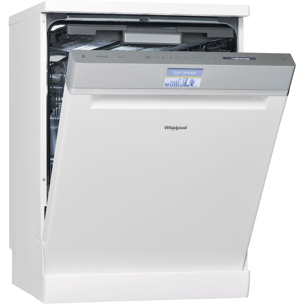 Whirlpool WFF 4O33 DLTG Dishwasher in White