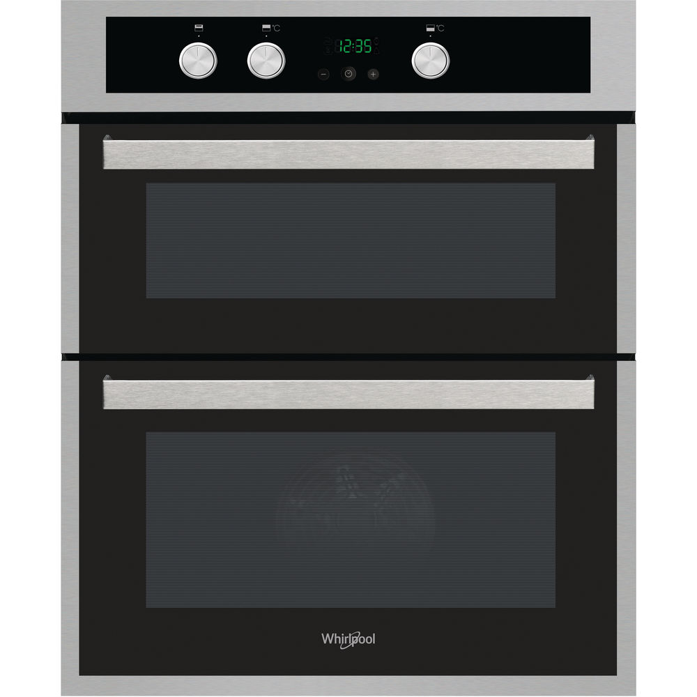 Whirlpool Akl 307 Ix Built Under Double Oven In Inox And