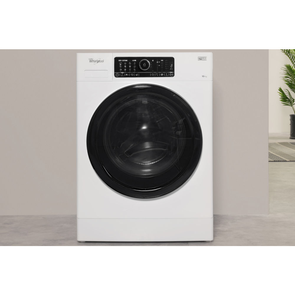 6th Sensefscr 10432fscr10432 Whirlpool Uk Learn More About Your Washer Or Dryer To Order Parts Click Here Supremecare Fscr10432 Washing Machine In White