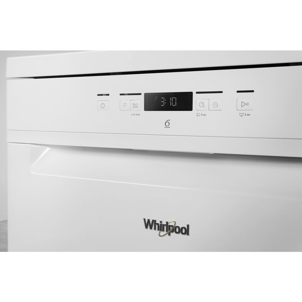 Whirlpool supremeclean wfc 3c26 dishwasher in white - Whirlpool power clean 6th sense notice ...