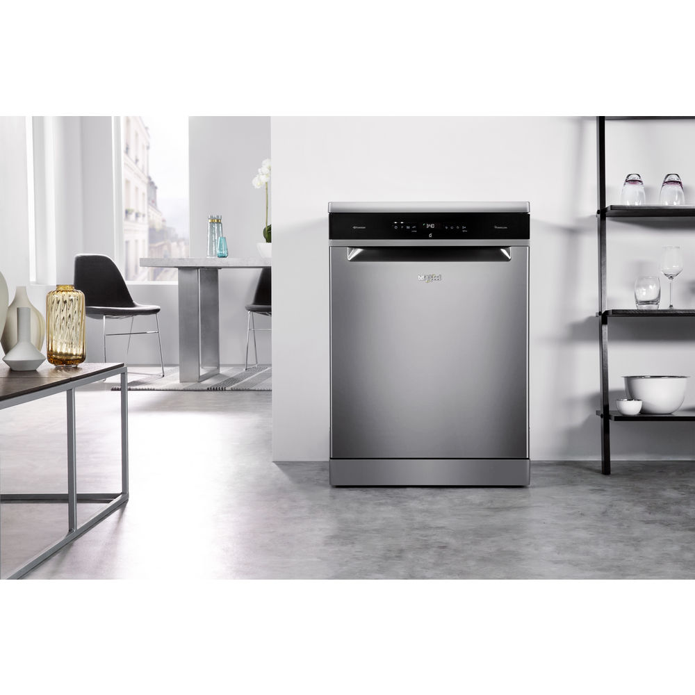 Whirlpool Supreme Clean Dishwasher in Stainless Steel WFO 3P33 DL ...
