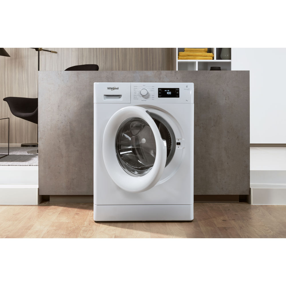16eb495ace8bc Whirlpool FreshCare FWG71484W Washing Machine in White - Whirlpool UK
