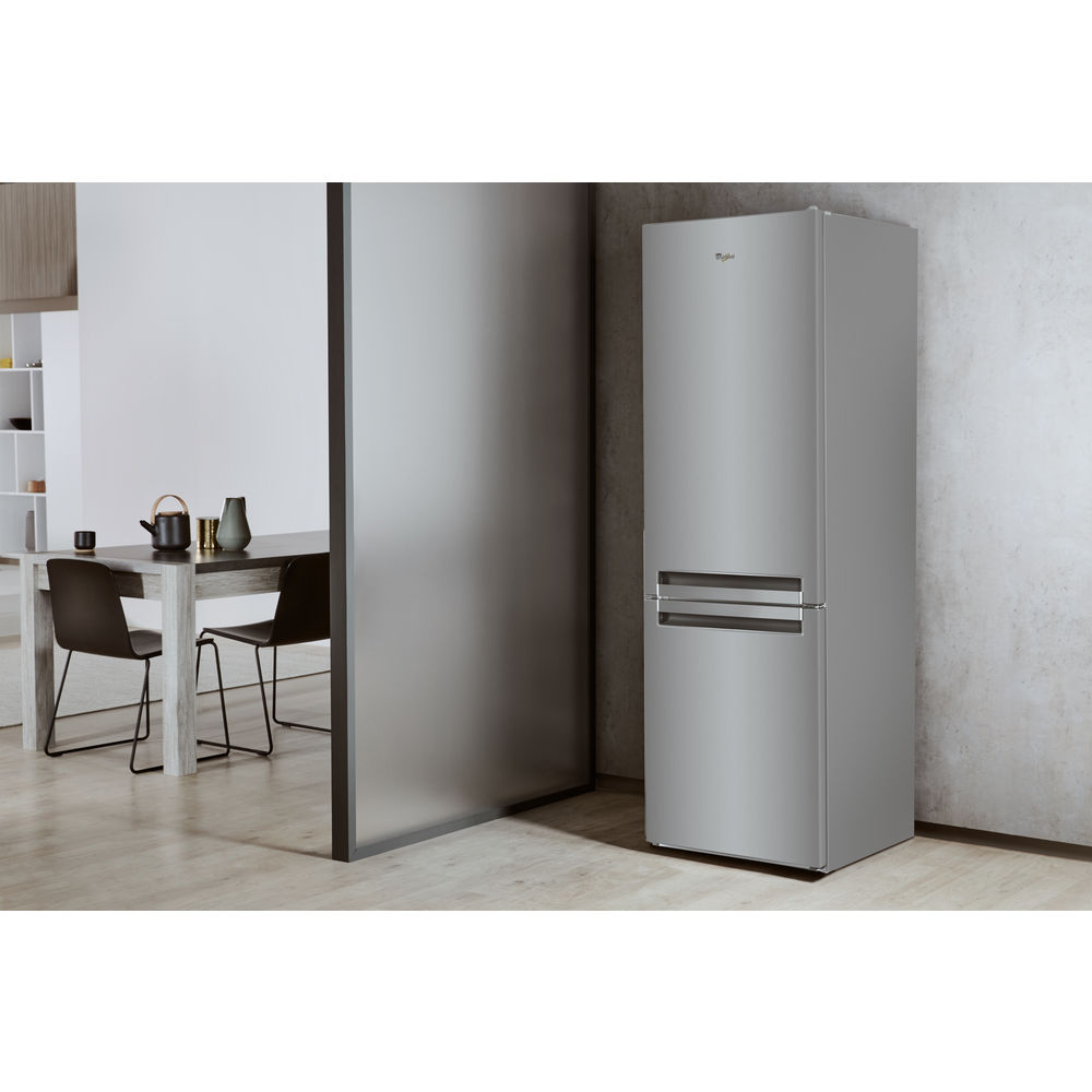 Fridge Freezer70 30 Fridgeice Maker Whirlpool Uk Refrigerator Ice Parts Diagram Further Bsnf 9152 Ox Freezer In Optic Inox