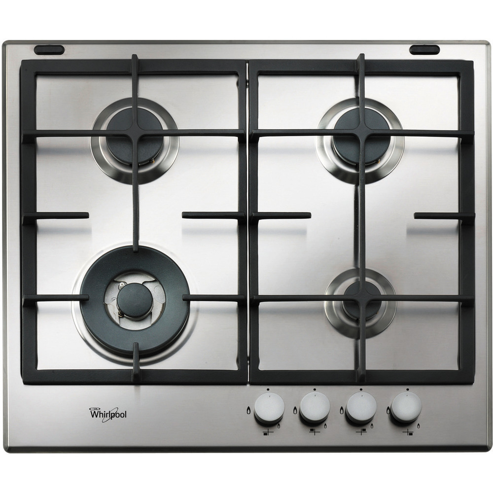 Whirlpool Absolute Built-In Gas Hob in Stainless Steel GMA 6422/IX