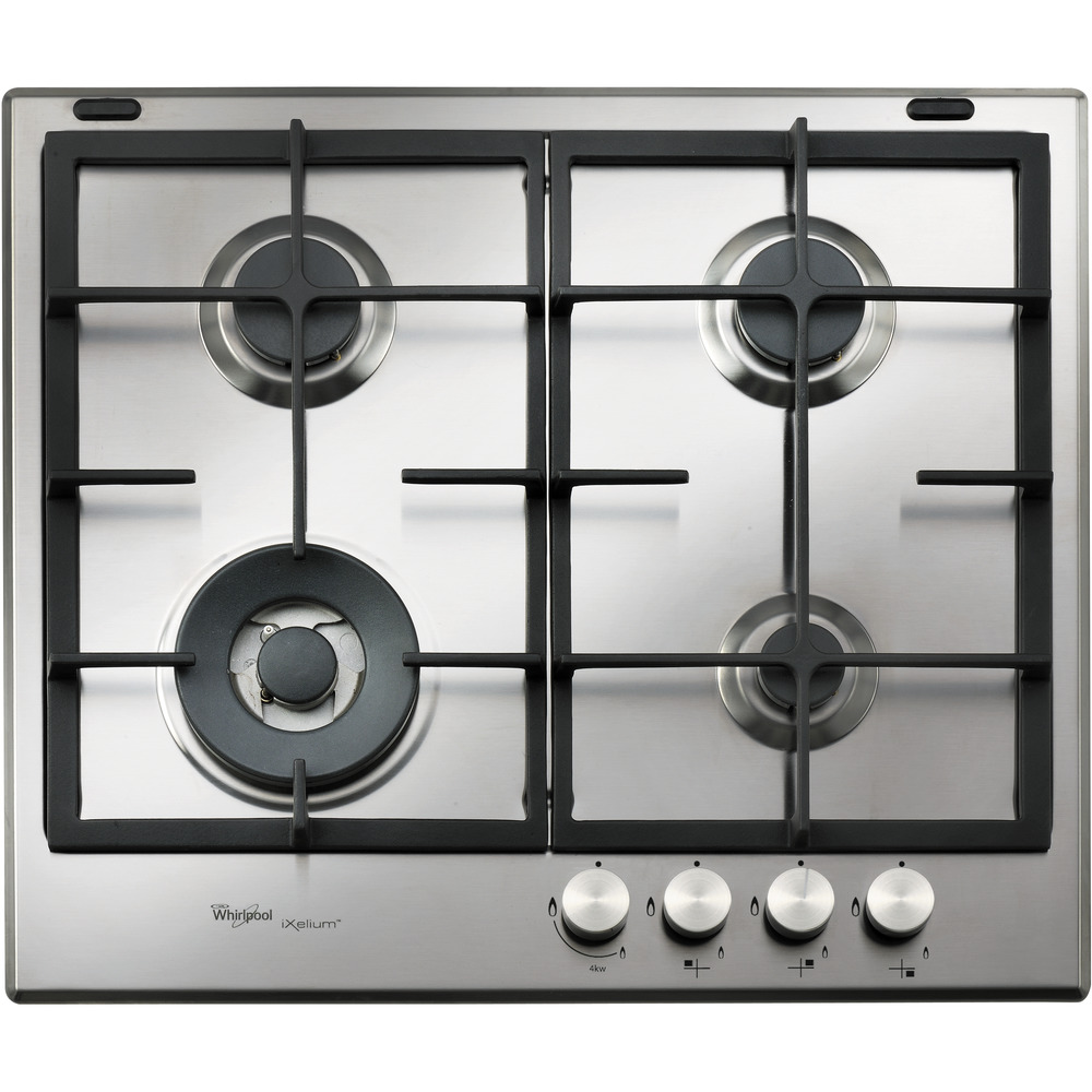 Whirlpool Fusion GMF 6422/IXL Built-In Gas Hob in Stainless Steel