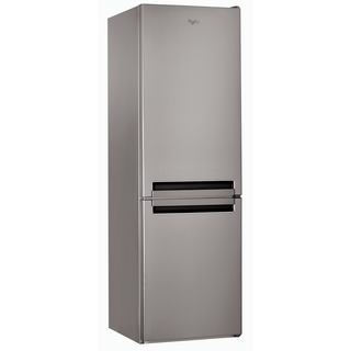 Whirlpool Fridge Freezer in Optic Inox - BLF 8121 OX