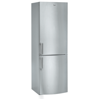 70:30 Silver Fridge-Freezer with LED Display WBE3325 NF TS