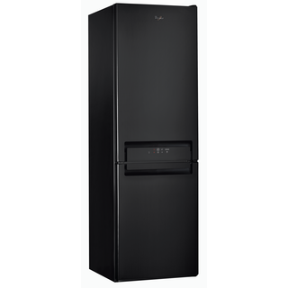 Whirlpool Fridge Freezer in Black BSNF 8993 PB UK